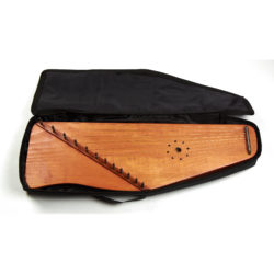 Soft case for 12 string psaltery (black)