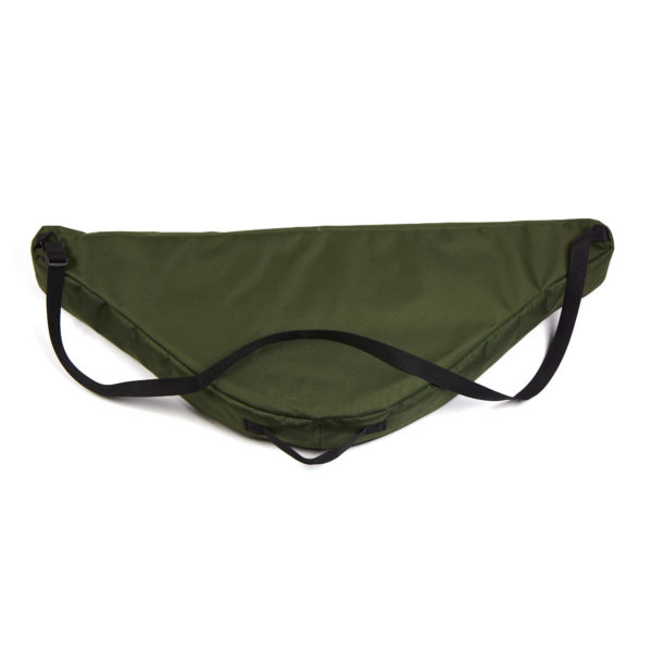 Soft case for helm-shaped psaltery (green)