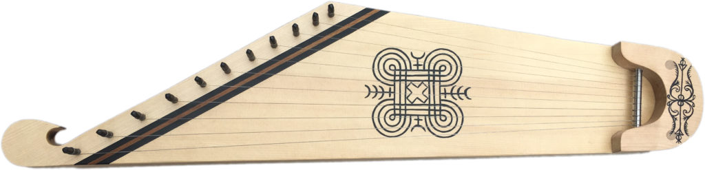 Kantele for left-handed