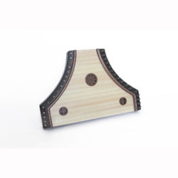 Medieval psaltery pig-snout musical instrument