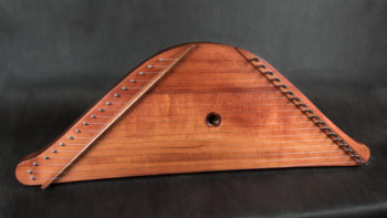 Russian harp helm-shaped 18 string baltic psaltery Русские гусли