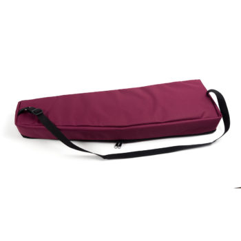 Soft case for 9 string psaltery (red)