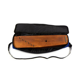 Soft case for 7 string psaltery (blue)
