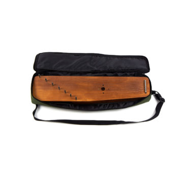 Soft case for 7 string psaltery (green)