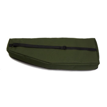 Soft case for 12 string psaltery (green)