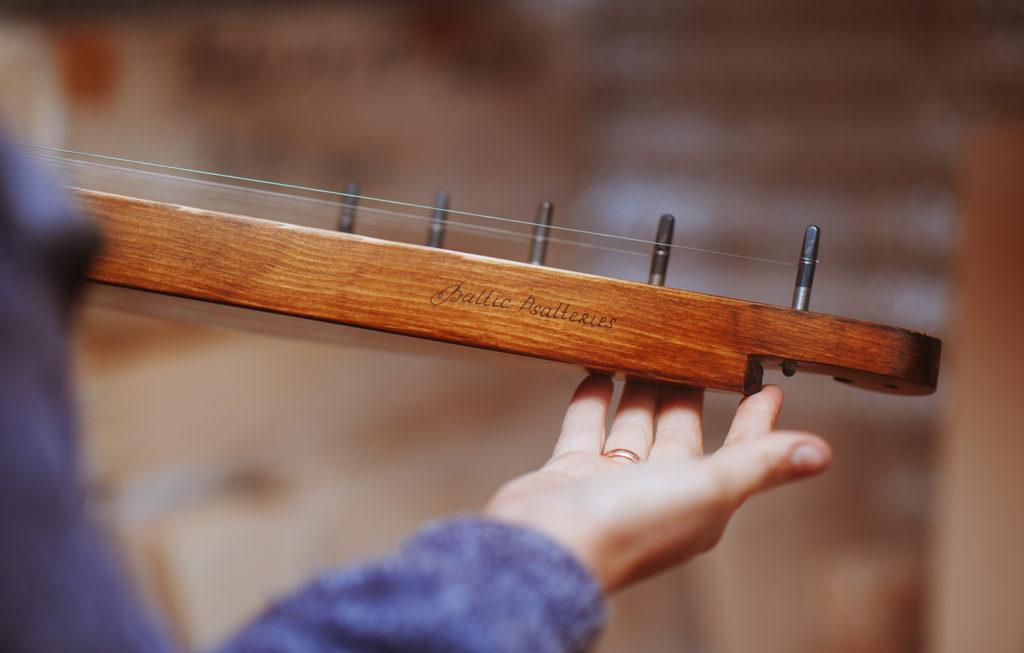 Made in workshop balticpsalteries 5 string Kantele