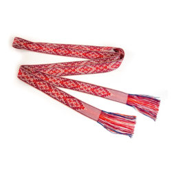 Handmade traditional woven belt